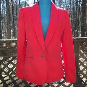Old Navy Red Petite Misses Blazer Size Small